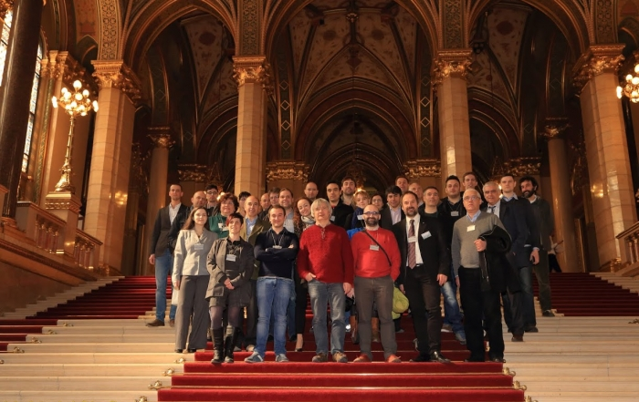 Project meeting in Budapest