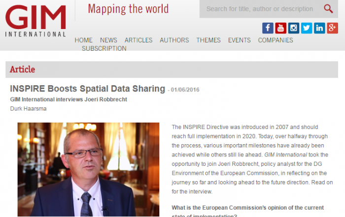 INSPIRE Data Sharing and the ENVplus CrowdSourcing Service